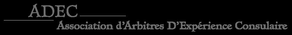 adec, association d'arbitres d'expérience consulaire